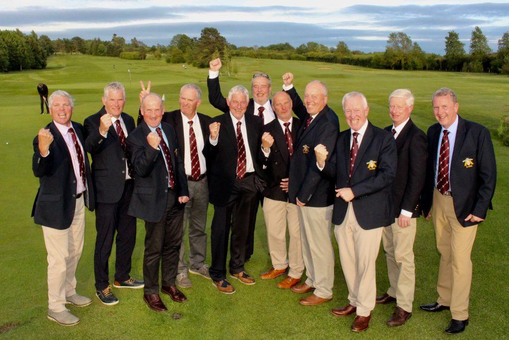 Seniors triumphant against against Lincolnshire